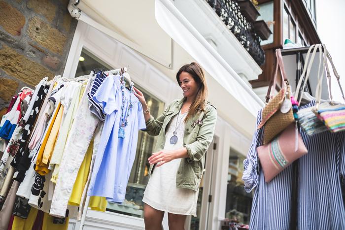 Ana , Zumaia , tienda ropa , es cuestion de estilo , moda , tendencia , Lucía Díez .