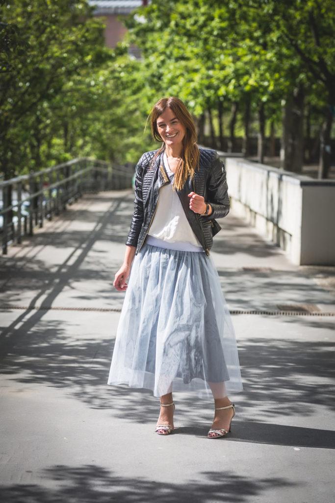 Falda de tul , Lucía Díez , Personal Shopper , Es cuestión de estilo .