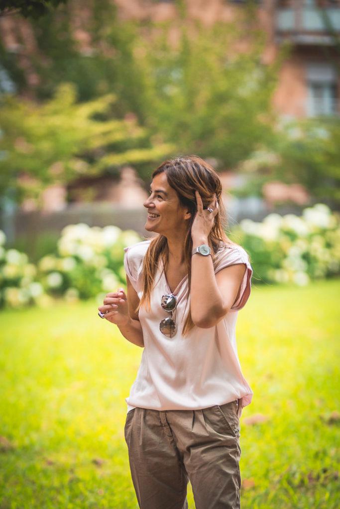 Camiseta rosa , es cuestion de estilo , Personal Shopper , Lucía Díez