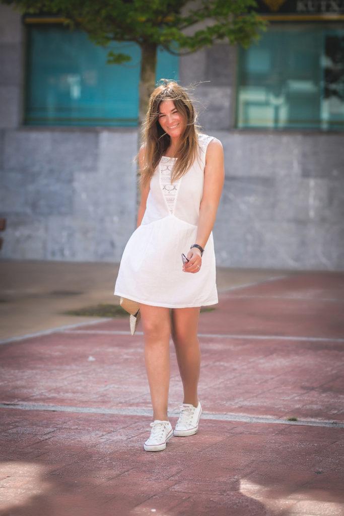 Vestido Blanco , converse , es cuestión de estilo , Personal Shopper , Lucía Díez