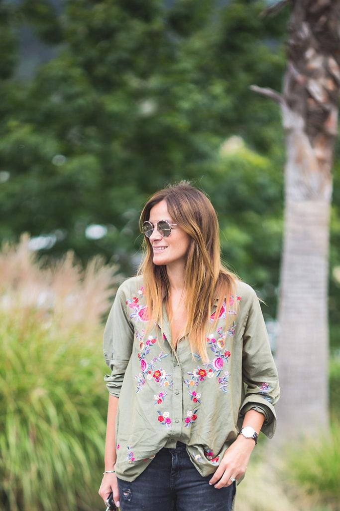 Camisa flores , Tendencia , trendy , Lucía Díez , Personal Shopper