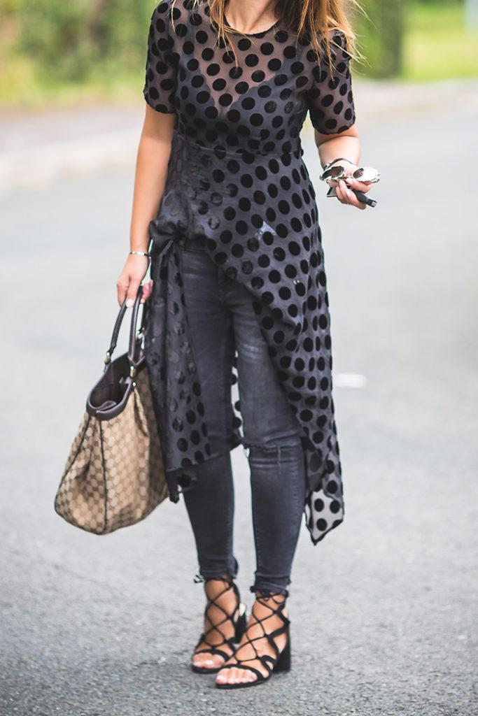Gucci, Sandalias Ainhoa Etxeberria, Zara, Transparencias .Es cuestión de estilo .Lucía Díez .