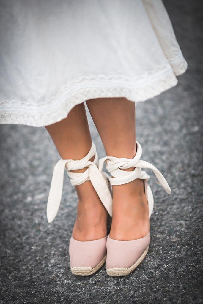 Blanco , crudo , beige , alpargatas , looks . Lucía Díez , es cuestión de estilo , Personal Shopper .