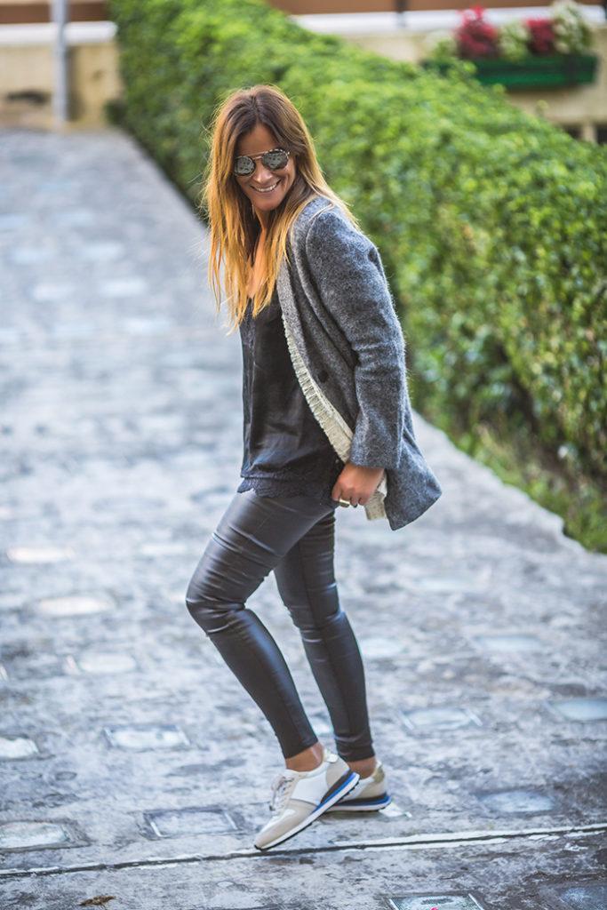 Shop Online , Abrigo Lana , Gris , Es cuestión de estilo , Personal Shopper . Lucía Díez .