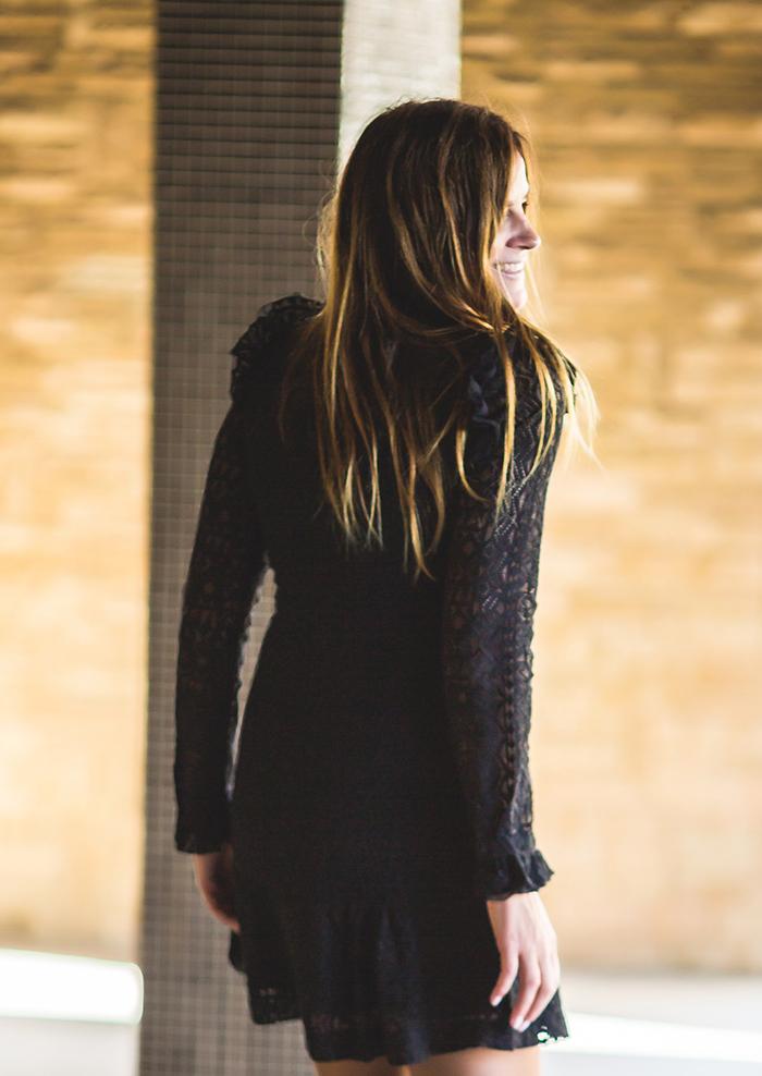 Vestido De Encaje , Stilettos , Lucía Díez , trendy , estilo , Tendencia .