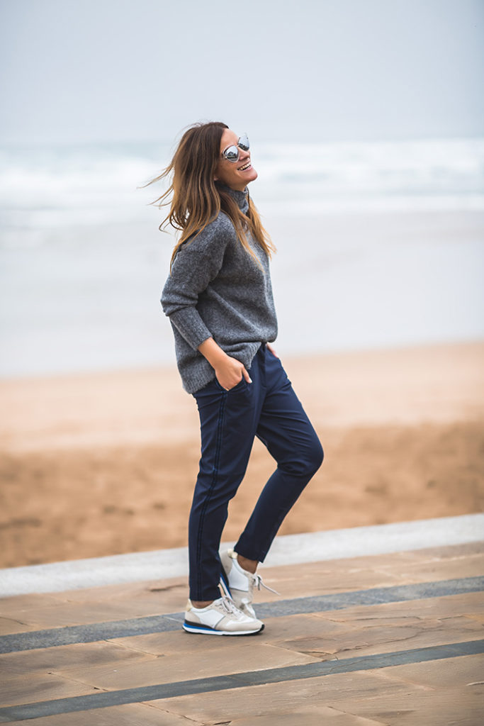 ook de otoño , Jersey Punto , Pantalón tipo traje , es cuestión de esatilo , shop online ,tendencia .