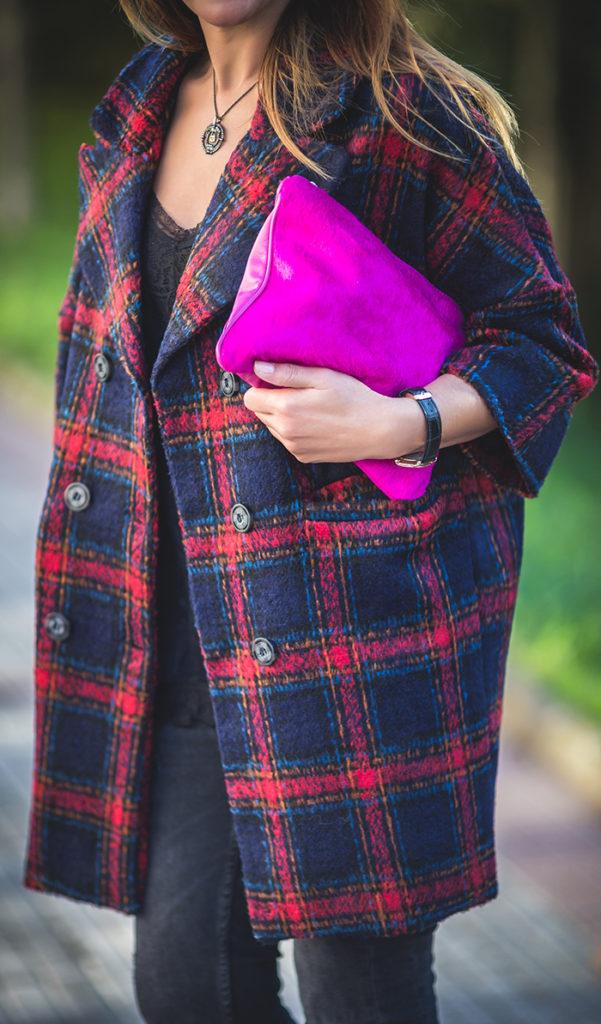 Abrigo Cuadros, Personal Shopper, Lucía Díez, Es cuestión de estilo