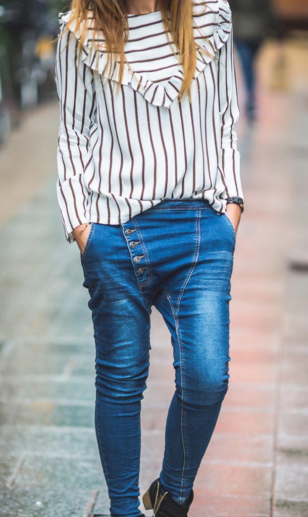 Camisa rayas y volantes , tendencia , Personal Shopper , Lucía Díez , es cuestión de estilo ,