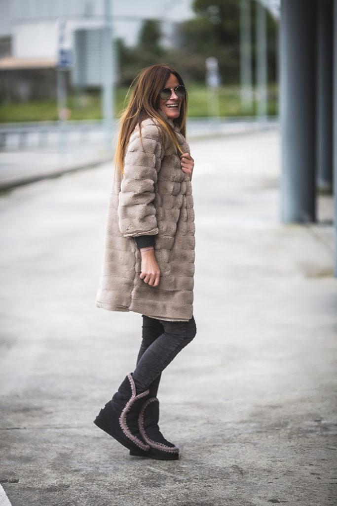 Es cuestion de estilo , estilo , Lucía Díez , Personal Shopper ,peluche , Abrigo pelo , The amity company ,