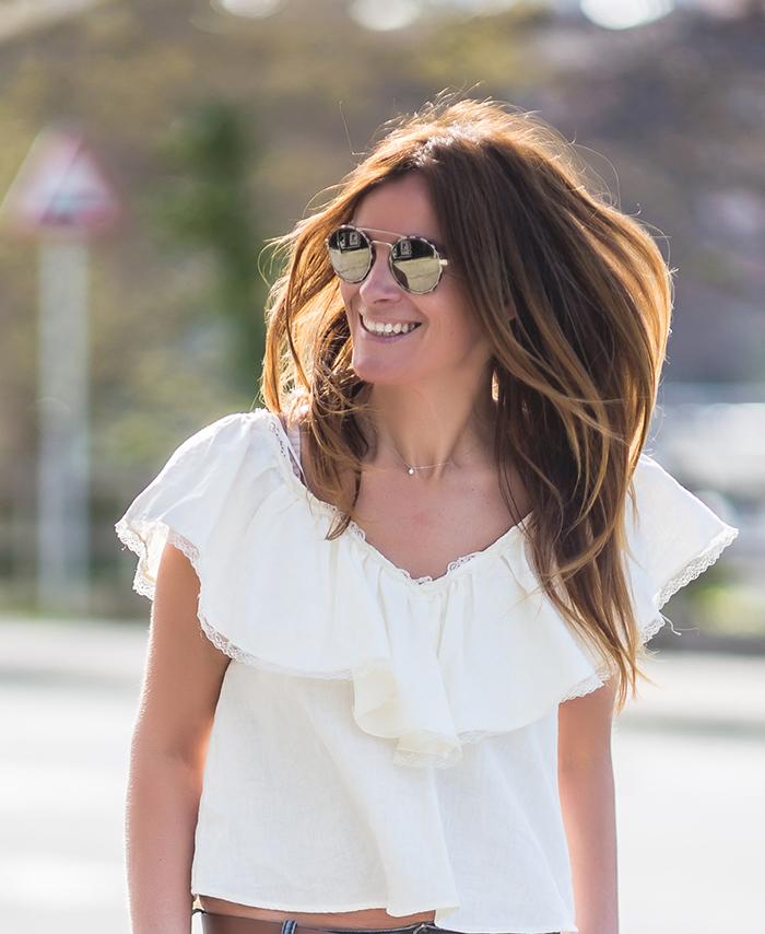 Camisa Volante , Volante , Camisa , es cuestión de estilo , Lucía Díez , Personal Shopper , estilo , style , estilo . Street style,