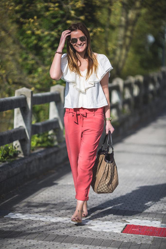 Coral, Volante, escuestiondestilo, PersonalShopper, LucíaDíez ,style,estilo,tendencia, Trendencias,