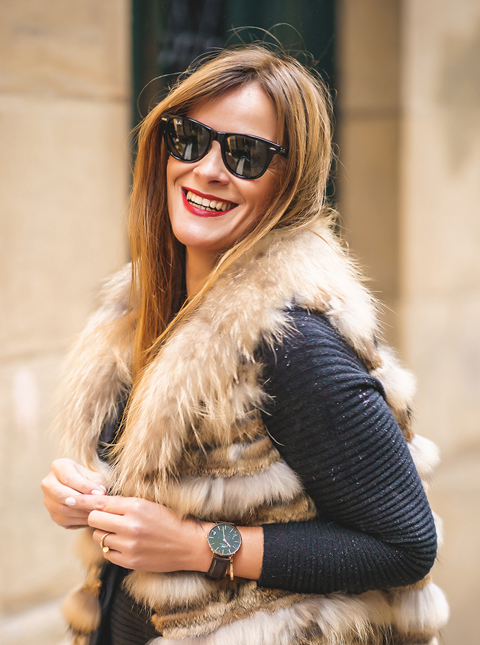 Ray Ban, Chaleco Pelo, personalshopper, Lucía Díez, escuestiondestilo, chaleco, Angicollection, Cartier, DanielWelligton