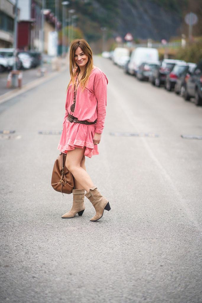 Vestido Teja
