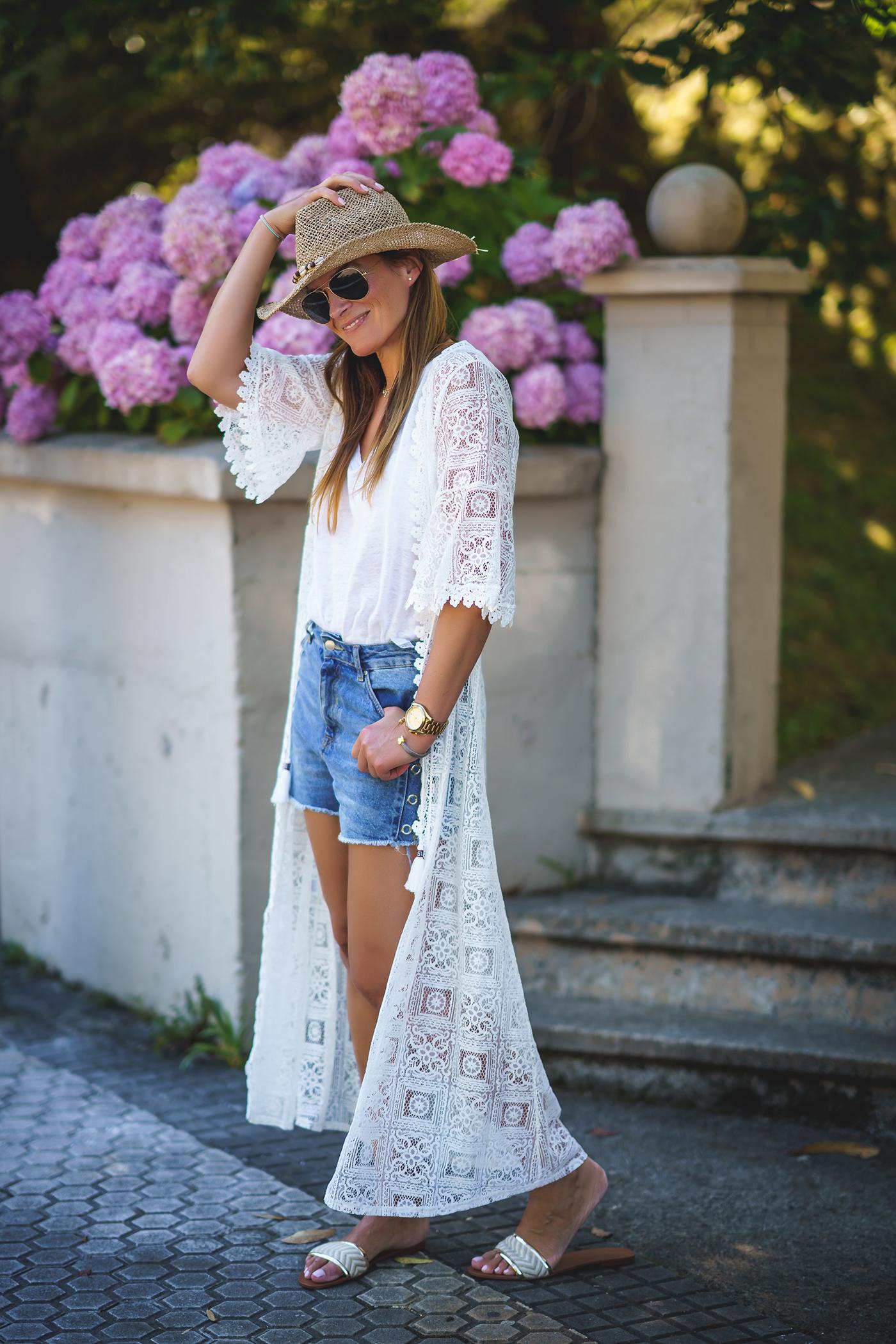 Kimono De Encaje