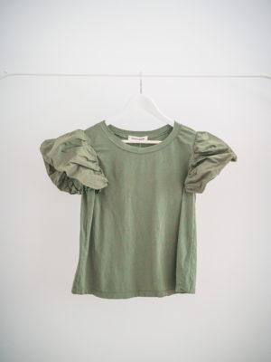 Camiseta Verde manga Abullonada